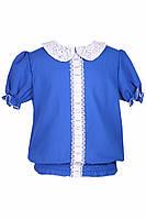 Блуза с короткими рукавами для девочки (разные цвета)