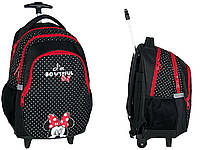 Рюкзак школьный на колесах Minnie Mouse PASO DMIN-997KOL