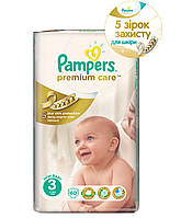 Подгузники Pampers Premium Care 3 (4-9 кг) 60 шт.