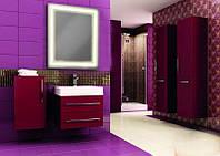 Зеркало для ванной комнаты со светодиодной подсветкой 683х800