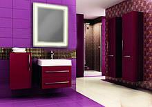 Дзеркало для ванної кімнати зі світлодіодним підсвічуванням 683х800