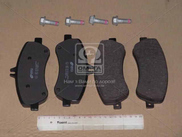 Колодка тормозная MB GLK-CLASS(X204) 220-350 08- передн. (производство REMSA) (арт. 1377.00), AEHZX