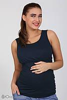 Майка для беременных и кормящих Liza New ЮЛА МАМА (темно-синий, размер S)