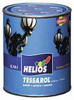 Эмаль по металлу HELIOS TESSAROL Antik, антрацит, 2,5л, фото 2