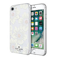 Чехол Incipio KS NY Protective Hardshell для iPhone 8/7 Transparent cream flowers (7KSIPH-055-HHCCS)