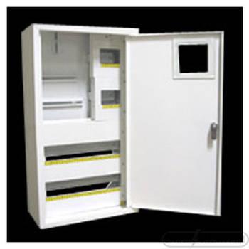Щит под 3ф электрический счетчик на 36 автоматов наружный (ЛОЗА) размеры: 544х315х150