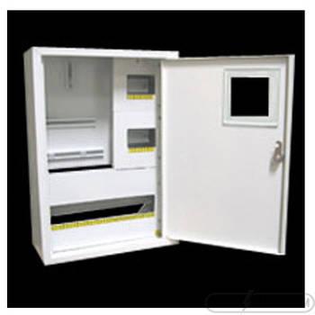 Щит под 3ф электрический счетчик на 24 автомата наружный (ЛОЗА) размеры: 428х330х150