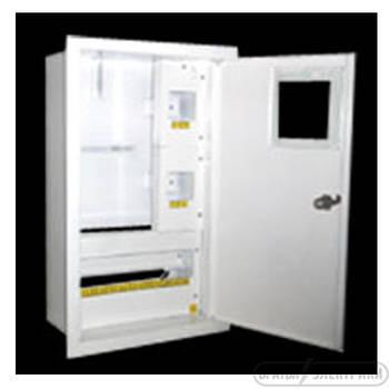 Щит под 1ф электрический счетчик на 16 автоматов внутренний (ЛОЗА) размеры: 385х250х135