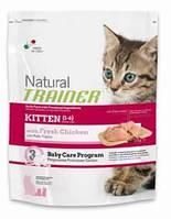 Сухой корм для котят с курицей KITTEN With Fresh Chicken 1.5 кг