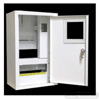 Щит под 1ф электрический счетчик на 10 автоматов наружный (ЛОЗА) размеры: 355х220х140