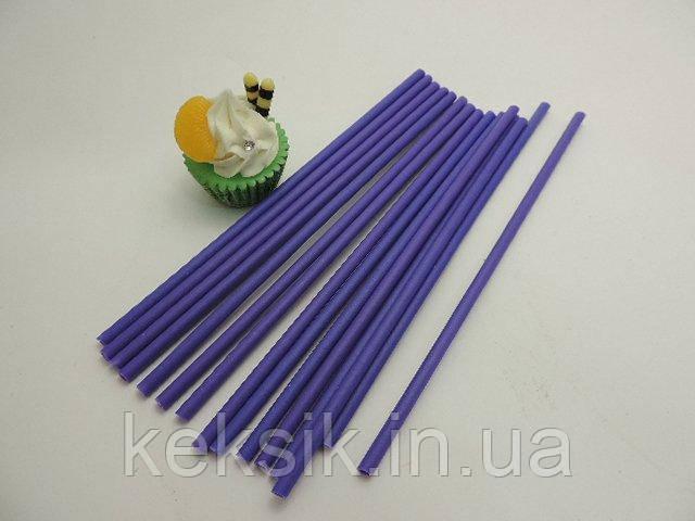 Lollipop фиолетовые укр 100 шт 15см