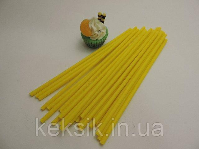 Lollipop желтые укр 100 шт 15см