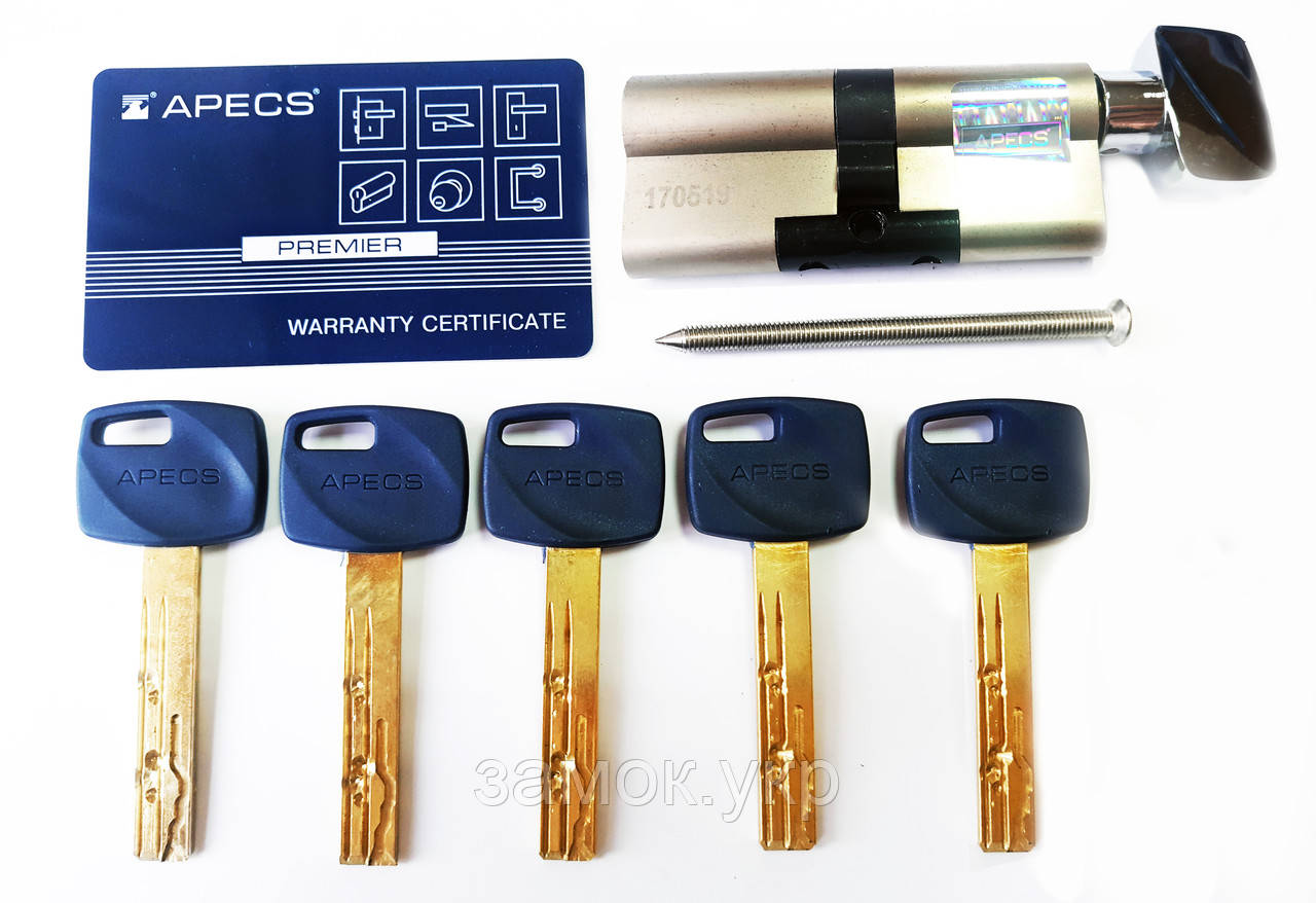Apecs XR-70-C15-NI 30х10х30 ключ/тумблер никель (Китай)