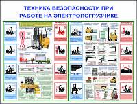ТБ при работе на электропогрузчиках. 0,6х0,8