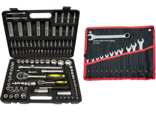 Набор инструментов 108 элементов + 6-22 12 элементов TORX