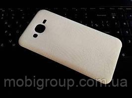"""Силиконовый чехол """"Крокодил"""" для Samsung J7"""