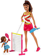 Игровой набор Barbie Барби серии Я могу быть тренер по теннису Barbie Careers Tennis , фото 1