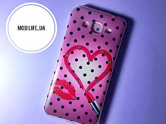 Чехол Samsung G530 сердечко