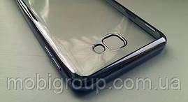 Чехол силиконовый с бампером под металик Samsung J7 Prime