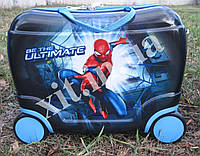 Детский чемодан-каталка Spider-man
