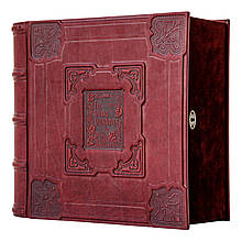 Кожаная Книга-бар 516-07-01