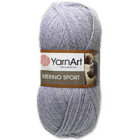 Пряжа YarnArt Merino Sport (Мерино спорт) цвет - светло-серый 770