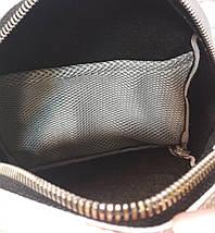 111-2 Натуральная кожа Городской рюкзак Кожаный рюкзак Из натуральной кожи Рюкзак женский серый рюкзак серый, фото 2