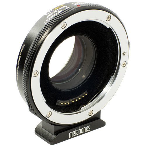 Metabones Ultra 0.71x Adapter for Canon FD-Mount Lens to Micro Four Thirds-Mount Camera (MB_SPFD-M43-BM3)