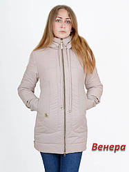 """Куртка """" Венера """" бежевая"""