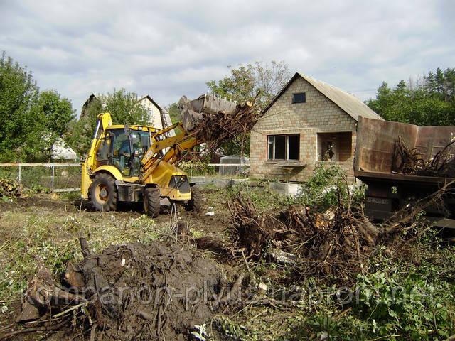 Расчистка участков Киев и Киевская область