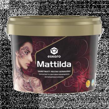 Краска для стен и потолков ESKARO Mattilda, TR (прозрачная), 0,9л
