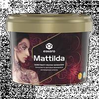 Моющаяся матовая краска для стен и потолков ESKARO Mattilda, А (белая), 9,5л