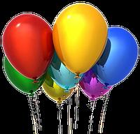 Воздушные гелиевые шарики Днепр