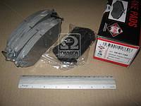 Колодка тормозная SUBARU OUTBACK (производство ASHIKA) (арт. 50-07-709), AEHZX