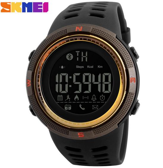 Часы наручные SKMEI 1250 Bluetooth brown