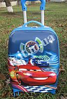 "Детский чемодан 16"" на колесах Cars Тачки"
