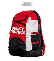 Спортивный рюкзак Funky Trunks Backpack (Black/Red/White), фото 1