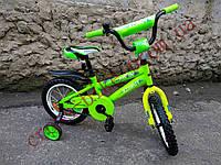 """Детский двухколесный велосипед Azimut 12"""" Stitch Стич  А"""
