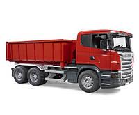 Самосвал Scania со съёмным контейнером Bruder 03522