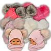 Детский комплект - шапка и шарф (труба) для девочки, р. 46-48, Grans (Польша), утеплитель Softi Term, A847ST