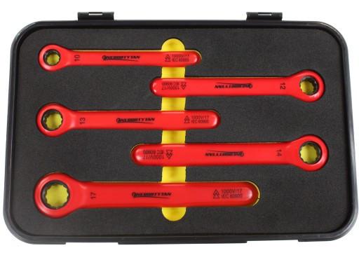 Набор храповых изолированных ключей 10-17mm ENERGOTYTAN