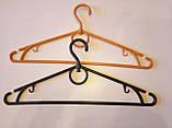 Плечико с поворотным крючком №03, цветное  40 см., фото 4