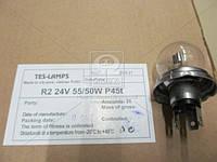 Лампа A24-55+50 (24V 55/50W) P45t (Tes-Lamps) (арт. 2880002)
