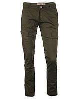 Брюки хаки с накладными карманами YES MISS, размер М(28-29)