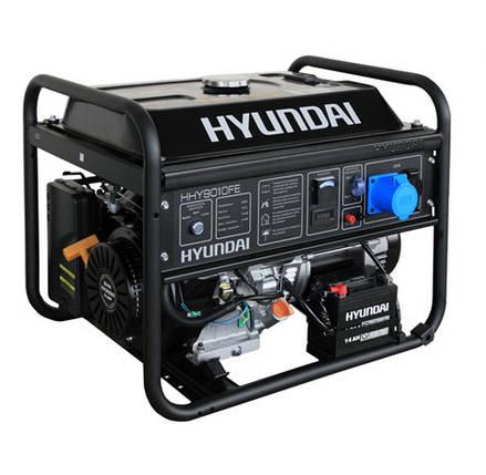 Бензиновый генератор серии HOME Hyundai HHY 9010FE, фото 2