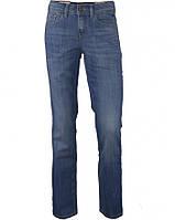 Джинсы женские голубые со средней посадкой, ровной штаниной от колена, Straight ALEXA, стрейчевые, легкие TOM TAILOR, размер 28/32