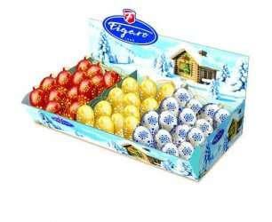 Шоколадные конфеты 10,5г Figaro (игрушка на ёлку), фото 2