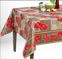 Клеенка для стола в рулонах оптом в кафе, столовую и другие заведения общественного питания