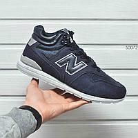 Мужские зимние ботинки, кроссовки New Balance 696 Winter. Оплата при получении!