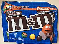 Конфеты M&M`s с печеньем (pretzel)  внутри